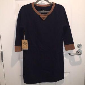 United by Blue, Navy Fleece Dress XS